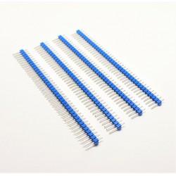 X4 PCS Header Bleu males à...