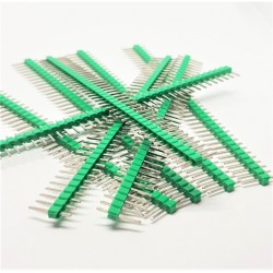 8 pcs GREEN 40 Pin 2.54mm Single Row Male Pin Header Strip For arduino