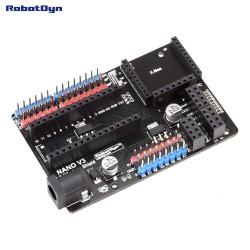 Carte RobotDyn Nano V3.0 E / S et shield sans fil