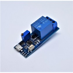 5V-30V Delay Relay Timer Module Trigger Delay Switch Micro USB