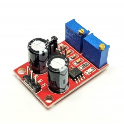 NE555 pulse frequency, duty ratio adjustable module / square wave signal generator