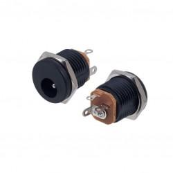 Embase CC à encastrer 2,5 mm x 5,5 mm DC-022