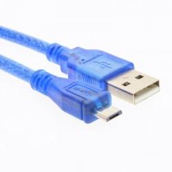 Cable USB Type A et micro Type B pour Arduino 50cm
