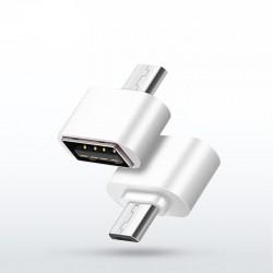 Adattatore Mini USB Tipo A a Micro USB Tipo B bianco