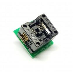 Adaptateur pour appareil de programmation 150mil SOIC8 SOP8 à DIP8