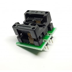 Adaptateur pour appareil de programmation 200-209mil SOP8 à DIP8