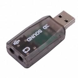 Scheda audio USB Adattatore USB esterno audio 5.1 (Micro / Altoparlante).