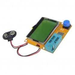 Mega328 LCR-T4 ESR Meter LCR led Transistor Tester Diode Triode Capacitance MOS PNP/NPN