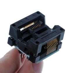 Adaptateur pour appareil de programmation 300mil SOP16 à DIP8