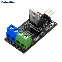 RobotDyn MOSFET interruttore DC relè, logica 5V, DC 24V / 30A