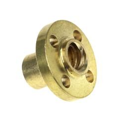 Ecrou Epaulé Bronze pour Tiges Filetées TrapézoIdales 8mm (vis m8)