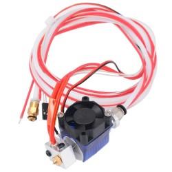 Kit J-HEAD V6 3D-Drucker-Extruder 12 V für 1,75 / 0,4 mm-Filamentventilator Hotend-Bowdenzug