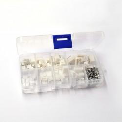 230pcs Assortiment de connecteurs JST au pas de 2.54 mm