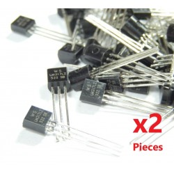 X2 Pieces LM317LZ - voltage regulator ( LM317 TO92 )