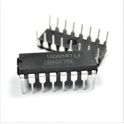 CD4017BE Dezimal-Zähler / Teiler-DIP-IC CD4017 CD4017-BE