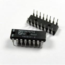TDA-7073A TDA 7073A TDA7073A DUAL POWER DRIVER 16PIN