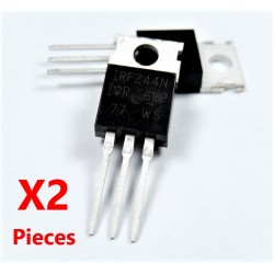 x2 pcs IRFZ44N IRFZ44 Transistor N-Channel Rectifier Power Mosfet TO-220