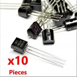 10Pcs 78L06 Regolatore di tensione lineare TO-92, 6V 100mA WS78L06