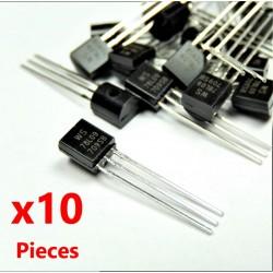 10Pcs 78L09 Regolatore di tensione lineare TO-92, 9V 100mA WS78L09