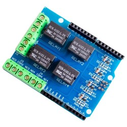 4 channel 5v relay shield module,  relay control board for arduino