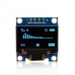 Module d'affichage OLED bleu 0,96 pouces 128X64 IIC pour arduino