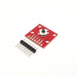 Mini Touch Módulo joystick de 5 vías para Arduino