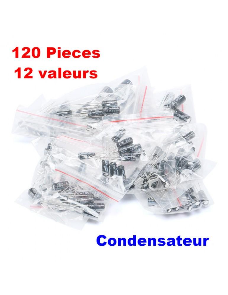 22uF 35 V Radial Condensateur électrolytique 105 ° Pack 10