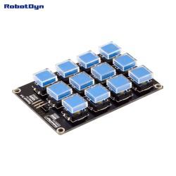 RobotDyn Módulo botones del teclado 12 3x4 a Arduino