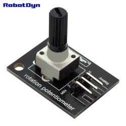 RobotDyn Potentiomètre de rotation analogique 10K