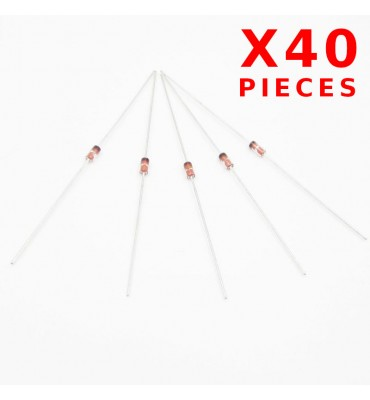 x40Pcs Germanium diode 1N34A DO-35 1N34 DO1 1N34 D1