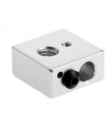 Heating block for aluminum extruder