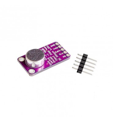 MAX9814 amplified microphone module AGC electret microphone