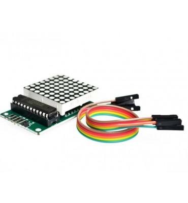 8x8 SPI and MAX7219 dot matrix display module