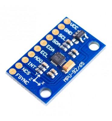 GY-6500 MPU-6500 Sensore Accelerazione 6-Axis giroscopio Modulo SPI//IIC PER Arduino
