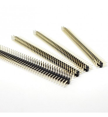 X4 PCS Header double angled 90 ° weldable by 80 pin