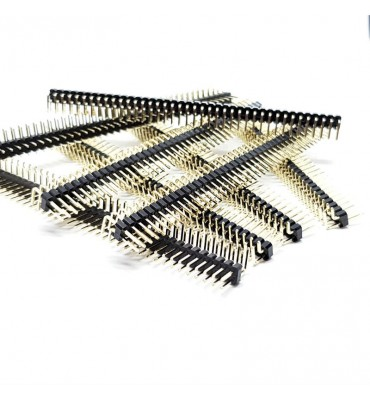 X8 PCS Header double angled 90 ° weldable by 80 pin