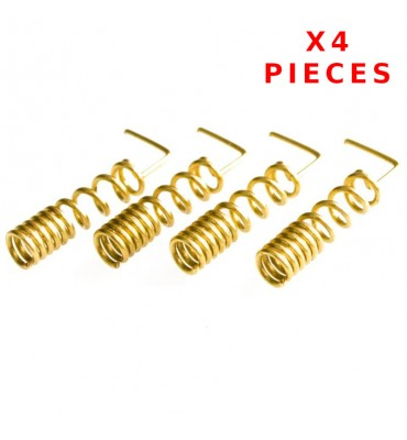 X4 Pcs 900/1800 MHZ Helical Antenna Soldering
