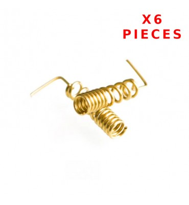 X6 Pcs 900/1800 MHZ Helical Antenna Soldering
