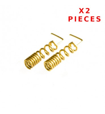 x2 Pcs 900/1800 MHZ Helical Antenna Soldering