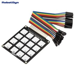 RobotDyn Capacitive Touch Key Pad. 16 keys