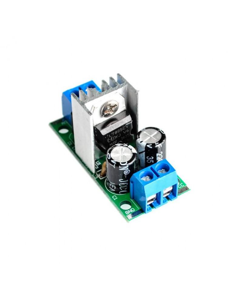 L7805 voltage regulator filter rectifier module 5V 1.5A 1674Z
