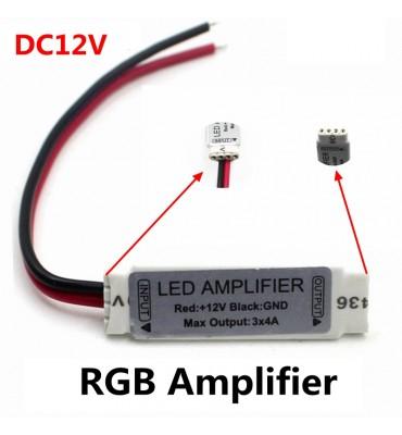 LED amplifier repeater 12v for LED strip RGB SMD 5050/2835/3528/5730/5630/3014