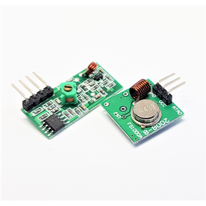 433Mhz RF transmitter and receiver Module link kit for Arduino/ARM/MCU WL  diy 433mhz wireless
