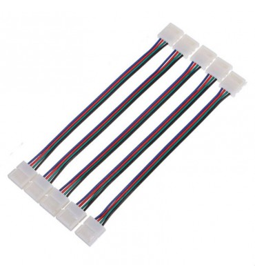 X5 Connection cables for 4-Pin LED Strip RGB 5050 10mm