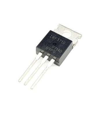 Transistor IRF3710, 100 V 57 A MOS-N-FET-e TO220