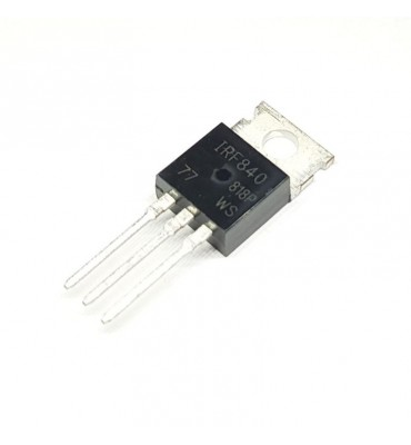 Transistor IRF840, 500V 8A MOS-N-FET-e TO220