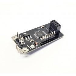 NRF24L01 Socket Adapter plate Board ATMEGA48 wireless Shield module SPI to IIC I2C TWI Interface