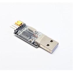 USB-RS232-TTL-Konverter-Modul Adapter CH340G dito PL2303 CP2102