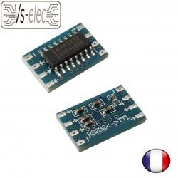 Serial Port Mini RS232 to TTL Converter Adaptor Module Board MAX3232 115200bps