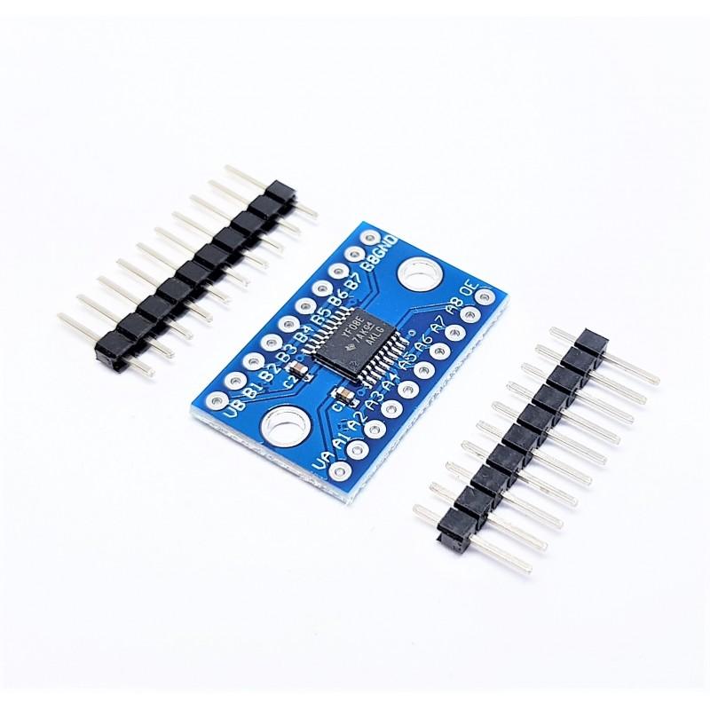 3.3V 5V 8 Canali Convertitore di Livello Logico TTL Bidirezionale per Arduino